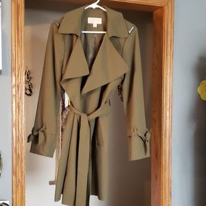 Brand new authentic Michael Kors fall/spring coat.